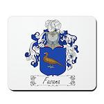 Fasana Family Crest Mousepad