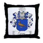 Fasana Family Crest Throw Pillow