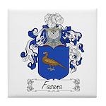 Fasana Family Crest Tile Coaster
