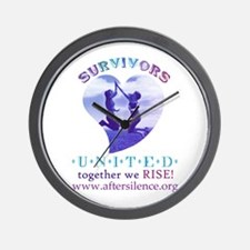 Survivors United Wall Clock