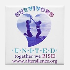 Survivors United Tile Coaster