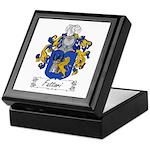 Fattori Family Crest Keepsake Box