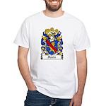 Fazio Family Crest White T-Shirt