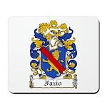 Fazio Family Crest Mousepad