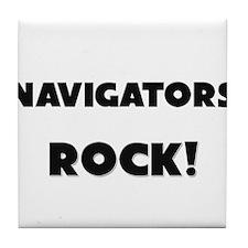 Navigators ROCK Tile Coaster