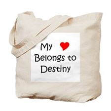 Unique Destiny Tote Bag