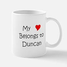Cute Heart belongs duncan Mug