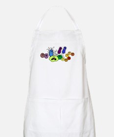 I Love Bacteria Too! BBQ Apron