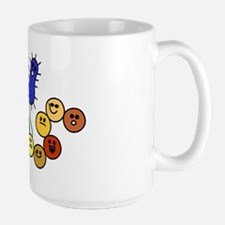 I Love Bacteria Too! Large Mug