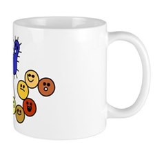 I Love Bacteria Too! Mug