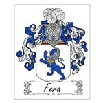 Fera Family Crest Small Poster