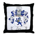 Fera Family Crest Throw Pillow
