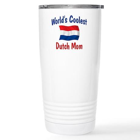 Coolest Dutch Mom Stainless Steel Travel Mug