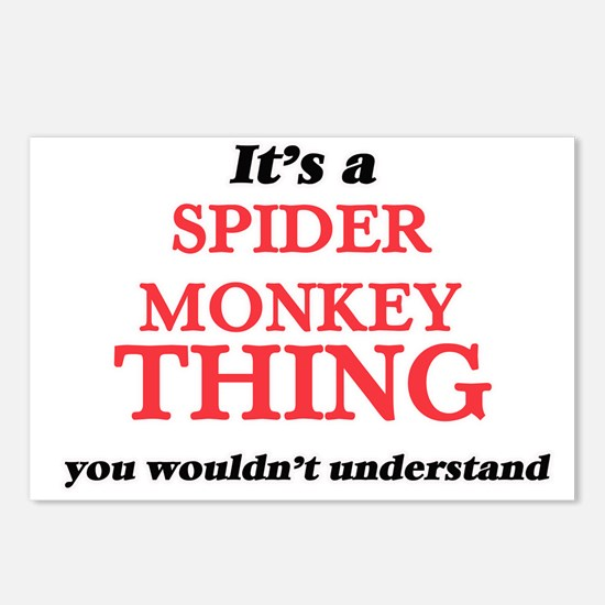 It's a Spider Monkey Postcards (Package of 8)