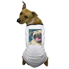 Cute Pug art Dog T-Shirt