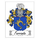 Ferrante Family Crest Small Poster