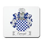 Ferranti Family Crest Mousepad