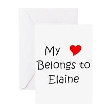 Unique My heart belongs lazaro Greeting Card
