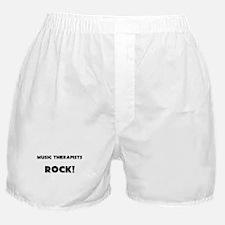 Music Therapists ROCK Boxer Shorts