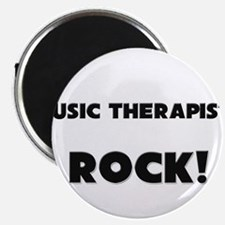 Music Therapists ROCK Magnet