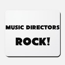 Music Directors ROCK Mousepad