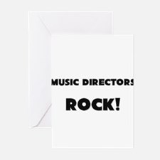 Music Directors ROCK Greeting Cards (Pk of 10)