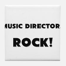 Music Directors ROCK Tile Coaster