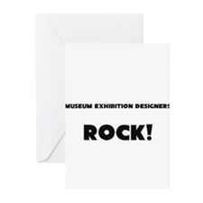 Museum Exhibition Designers ROCK Greeting Cards (P