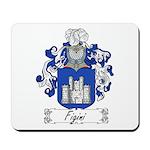 Figini Family Crest Mousepad