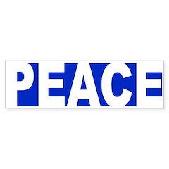 Peace Bumper Bumper Sticker