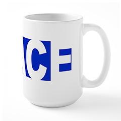 Peace Large Coffee Mug