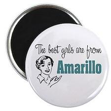 Best Girls Amarillo Magnet