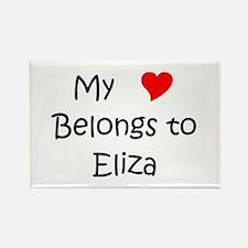 Cool Eliza Rectangle Magnet