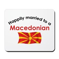 Happily Married Macedonian 2 Mousepad