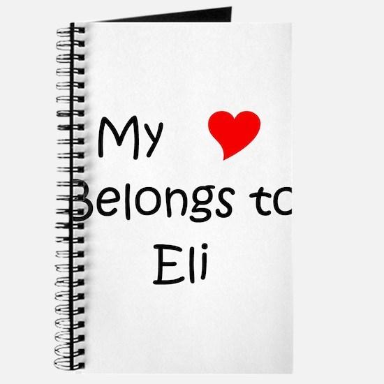 Cute Eli Journal
