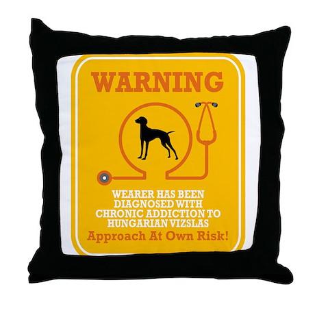 Vizsla Throw Pillow