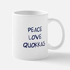 Peace, Love, Quokkas Mug