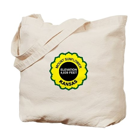 Mount Sunflower Tote Bag