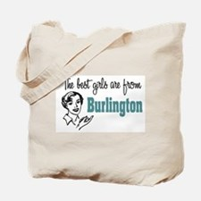 Best Girls Burlington Tote Bag