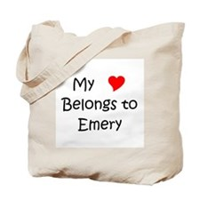 Emery name Tote Bag