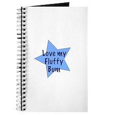Love my fluffy bum - boy Journal