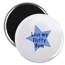 "Love my fluffy bum - boy 2.25"" Magnet (10 pack)"