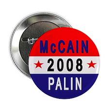 "McCain - Palin 2.25"" Button"