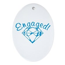 Engaged Oval Ornament