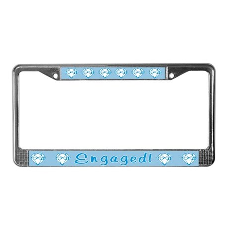 Engaged License Plate Frame
