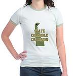 Delaware State Cornhole Champ Jr. Ringer T-Shirt