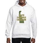 Delaware State Cornhole Champ Hooded Sweatshirt
