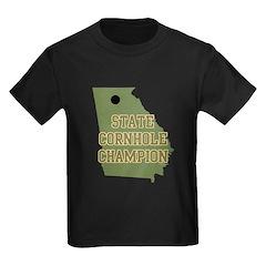 Georgia State Cornhole Champi T