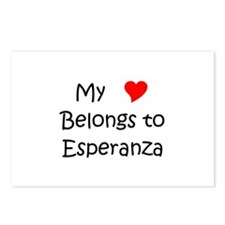Funny Esperanza Postcards (Package of 8)
