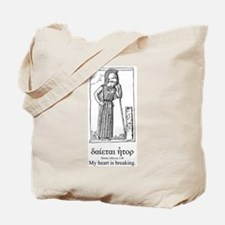 Mourning Athena Quote Tote Bag